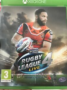 Rugby League Live 4 ( Xbox One )