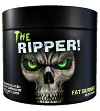 Cobra Labs The Ripper Pre Workout 30 Servings Strong Fat Burner Powder Free P&P