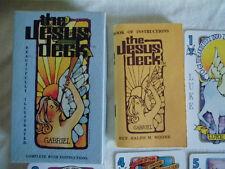 vintage Jesus Tarot Karten Deck, Esoterik, Magie, Orakel, Wahrsagen, selten!!!!