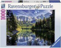 Ravensburger 1000 Piece Jigsaw Eib Lake Germany 193677 Puzzle Scenic Mountains