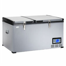 84-Quart Portable Electric Car Cooler Refrigerator / Freezer Compressor Camping