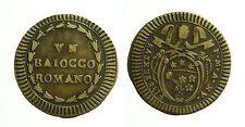 pcc1644_3) ROMA - Pio VI (1775-1799) Baiocco A. XV CNI 209; Munt. 130 var. II/b
