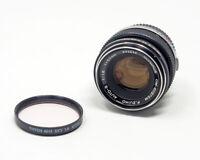 Olympus F. Zuiko Auto-S 50mm F1.8 Manual Focus Lens  #693844 TESTED!