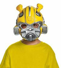 Bumblebee Movie Mask Transformers Fancy Dress Halloween Child Costume Accessory