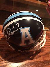 Joe Theismann Toronto Argonauts Autographed CFL Football Mini-Helmet w/JSA