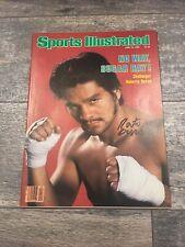 Roberto Duran Signed Newsstand Sports Illustrated JSA