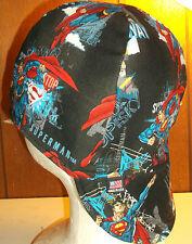Flying Superman Handmade 100% cotton, Welding, Biker, pipefitter,4 panel hat