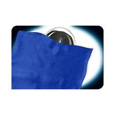 Zombie Ball Blue Silk Double Thick Foulard 26x26