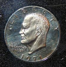 1971 S Eisenhower Dollar - 40% Silver Proof; U.S. Mint Certified / Encapsulated