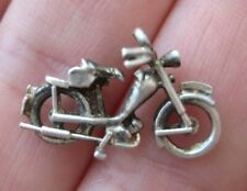 VINTAGE English Sterling Fancy BICYCLE Bike Silver Bracelet Charm