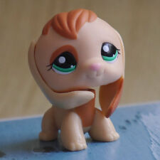 """IN HAND LPS LITTLEST PET SHOP MINI 3"""" FIGURE TOY  natural harrier Pubby dog"""