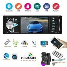 "Single 1 DIN 4.1"" Bluetooth Car Stereo MP5 Player USB TF AUX FM Radio Head Unit"