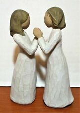 "New ListingWillow Tree ""Sisters By Heart"" Susan Lordi 2000 Demdaco Figurine"