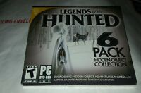 Legends of the Hunted [Hidden Object PC DVD-ROM] - 6 Pack (NEW)
