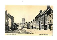 MOLD - HIGH STREET 1861 - OLD POSTCARD - FLINTSHIRE WALES
