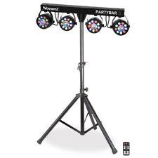 LED partybar 3 par PROJECTEUR avec discothèque Magic Balle trépied et