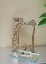 Brass Art Nouveau Mirror/Picture Frame in Very good condition