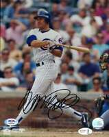 Ryne Sandberg PSA DNA Coa Hand Signed 8x10 Photo Autograph