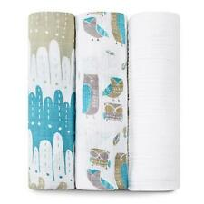 New Aden & Anais 3 Swaddle Aden and Anais Blankets Organic Wise Guys