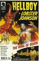 Hellboy Vs. Lobster Johnson Comic Issue 1 The Ring Of Death Modern Age 2019