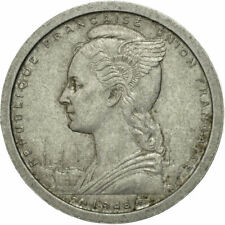 [#544185] Coin, French West Africa, Franc, 1948, Paris, VF(30-35), Aluminum