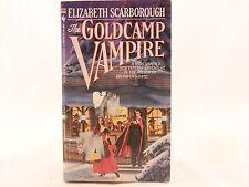 The Goldcamp Vampire by Elizabeth Scarborough-Bantam First Printing-1987