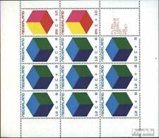Nederland Blok 9 postfris 1970 Voor het Kind: kleur Kubussen