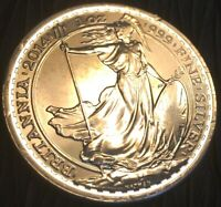2014 GREAT BRITAIN PROOF  2 POUNDS 1 OZ .999 SILVER COIN. ANGEL DRAGON SLAYER!