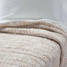 Threshold Block Paisley Quilt Set Neutral - 3PC - Full/Queen