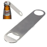 Steel Flat Wine Bar Tool Bottle Opener Beer