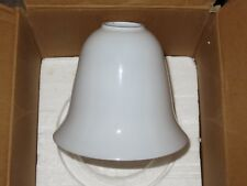 (1) NEW Pottery Barn BENNETT REPLACEMENT MILK GLASS BELL SHADE ONLY (FOR SCONCE)