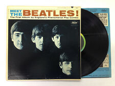THE BEATLES-MEET THE BEATLES-2nd press-MONO-Vinyl 6.5, Sleeve 6.5