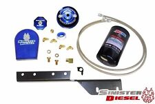 Sinister Diesel Bypass Oil Filter System fits 03-07 Ford Powerstroke 6.0