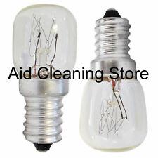 15W x 2 Fridge Freezer Light Appliance Bulbs SES E14 SMALL SCREW Pygmy Lamp 3340