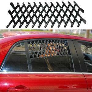 Pet Dog Travel Car Window Ventilation Grill Barriers Guard Safety Vehicle Fence