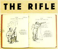 1937 Palestine RIFLE MANUAL Jewish LEE-ENFIELD Hebrew NOTRIM Book ISRAEL GUIDE