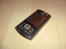 Nokia n80-Perla Black, teclas de menú está defectuoso, sin accu & cubierta, sin bloqueo SIM
