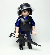 PLAYMOBIL ☆ CUSTOM SERIE POLICIA ☆ CUERPO NACIONAL POLICIA - UIP#1