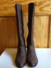 Brand New Lavorazione  Artigiana Itilian High end Brown Leather boots~ size 38/8