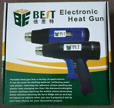Best Electronic Heat Gun 220v,1600 Watt,Temp-600°,Air volume 400-290,2 speed set