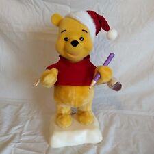 Telco Disney 1996 Motion-ette Winnie The Pooh Animated Christmas Display Figure