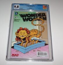 Wonder Woman (New 52) #30 - CGC NM/MT 9.8 - DC Modern Age MAD variant issue