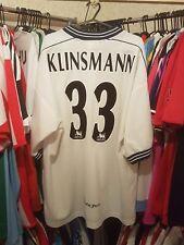 Tottenham Spurs Football Shirt 1997/99 Home XL ~ Klinsmann 33