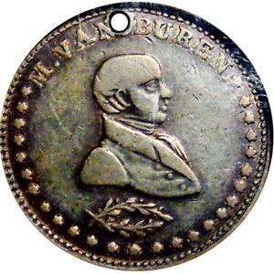 1840 Martin Van Buren Political Hard Times Token HT-77B R5 NGC