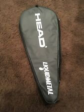 Head Liquidmetal Tennis Racquet Carrying Bag Carry Case Single Racket Sleeve Vg