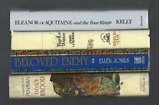ELEANOR of AQUITAINE lot Kelly WITNESS Goldman DEVIL'S BROOD Penman ENEMY Jones