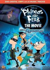 Phineas and Ferb: The Movie - Across the 2nd Dimension 2-disc DVD SET