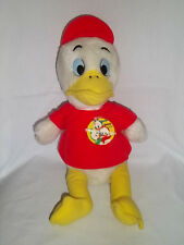"Vintage DISNEY 14"" Plush DEWEY DUCK TALES Stuffed Animal Toy Ducktales Red Shirt"