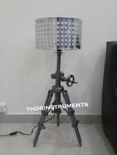 Modern Nautical wood Tripod Home Decorative Floor shade lamp stand tripod lamp