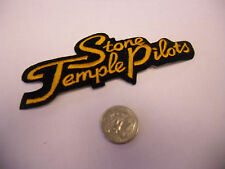 Stone Temple Pilots Logo IRON / SEW ON EMBROIDERED PATCH NEW scott weiland
